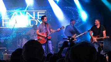 Austin James - Laine Hardy Homecoming concert at North Park in Denham Springs, La. 9.28.19