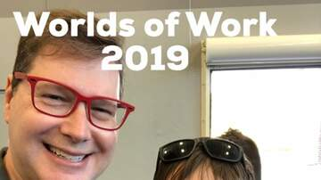 Chris & Rosie - PHOTOS:  Worlds Of Work 2019