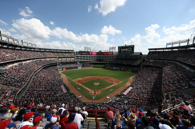 New York Yankees v Texas Rangers