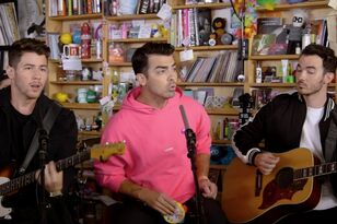 The Jonas Brothers' Tiny Desk Concert Features A Jazzy Rework Of 'Sucker'