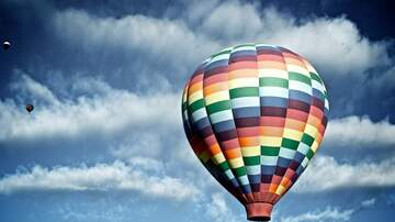 Lee Matthews - Vacation Video Blog 1-Hot Air Balloon Ride