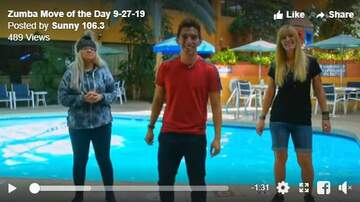 Kev's Move Of The Day - Zumba move of the Day 9/27/19
