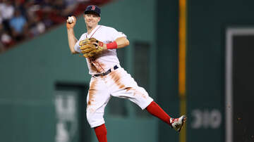 Chuck Nowlin - Brock Holt Was Giving Out Bats Outside Fenway After The Sox Last Game