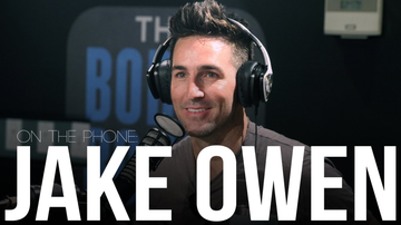 Bobby Bones - Jake Owen Wanted To Spread Love In World That Needs It W/ Believe Cover