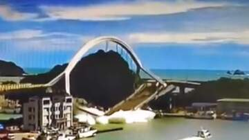The Jim Colbert Show - OMG! The moment the Nanfang'ao Bridge in Taiwan suddenly collapsed!