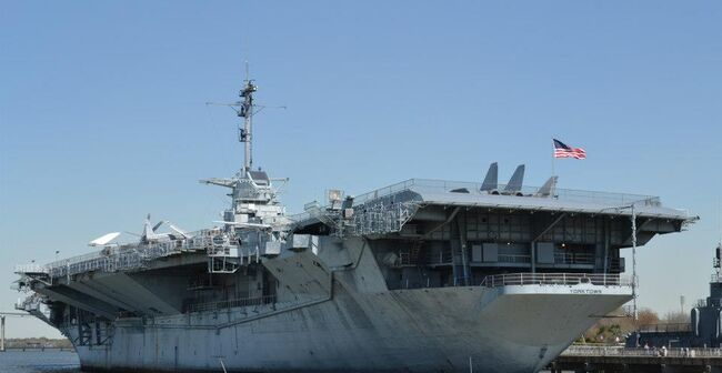 USS Yorktown Carrier