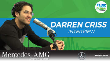 THE MERCEDES-AMG INTERVIEW LOUNGE - Darren Criss Says Elsie Fest Is The 'Jingle Ball' Of Broadway