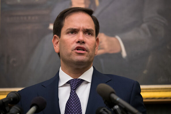 Marco Rubio Discusses Situation In Puerto Rico After Meeting With Pence