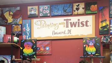 Try It Tuesday - #TryItTuesday @ Painting with a Twist - Newark