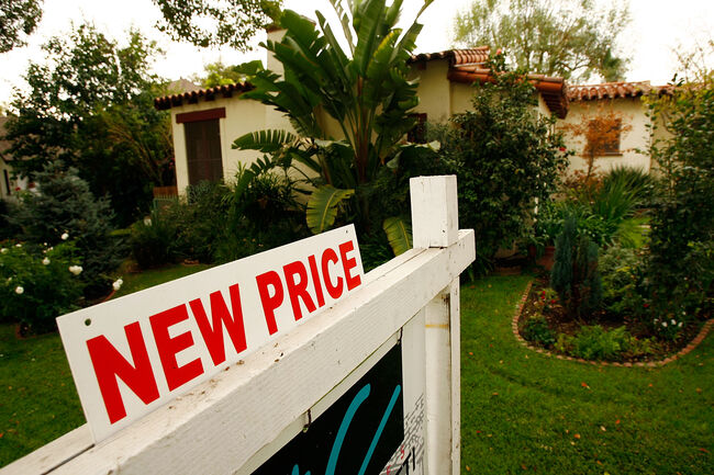 S&P Index Reports Record Drop In U.S. Home Prices