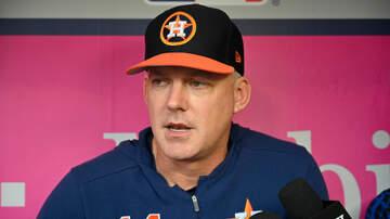 Sports Desk - Astros Prepare For Postseason
