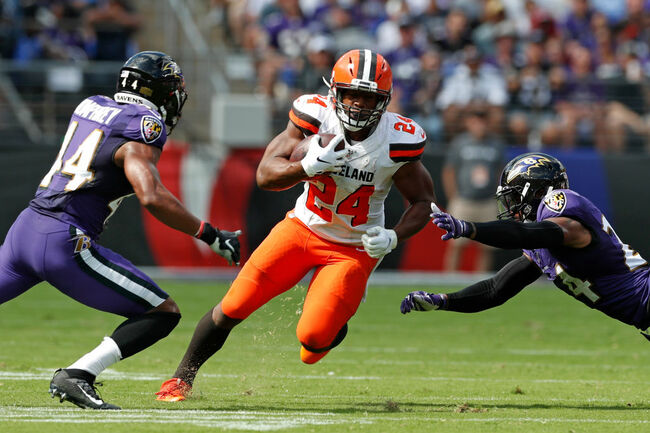 Nick Chubb Named AFC Offensive Player of the Week