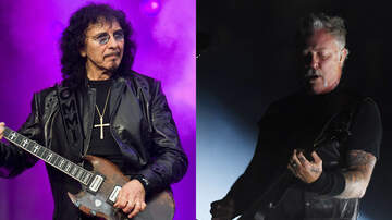 Ken Dashow - Tony Iommi Sends Heartfelt Note To Metallica's James Hetfield
