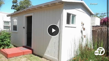 Qui West - This Southern California Shed Is Renting For $1,050 A Month!