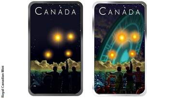 Coast to Coast AM with George Noory - New Canadian Coin Commemorates Legendary Shag Harbour UFO Incident