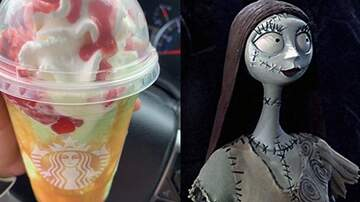 Reid - A 'Nightmare Before Christmas' Fan Made A Sally Frappuccino At Starbucks