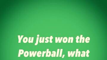 Mike Evans and The Memphis Morning Show - You Just Won The Powerball