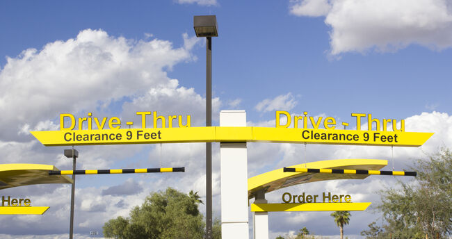 Drive-Thru  (Getty Images)