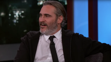 Entertainment News - Joaquin Phoenix Gets 'Embarrassed' After 'Kimmel' Airs NSFW 'Joker' Outtake