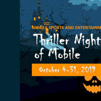 Thriller Nights of Lights of Mobile October 4th - 31st!