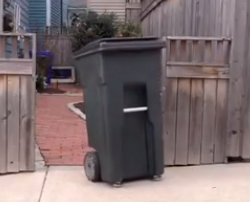 Scott Tom - Hate Taking Out The Garbage?  Self Driving Garbage Bin To The Rescue!