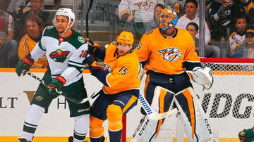 Wild Blog - Predators Beat Wild With Four-Goal Third Period | KFAN 100.3 FM