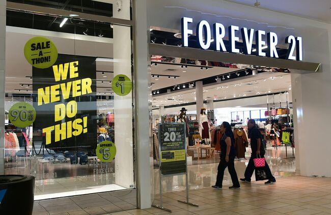 US-ECONOMY-FOREVER21-BANKRUPTCY-retail-fashion