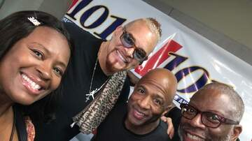 Mike Evans and The Memphis Morning Show - Legendary Comedian/Actor Sinbad!