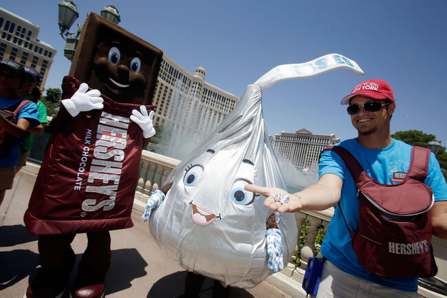 Hershey's Chocolate World Grand Opening At New York-New York Hotel & Casino