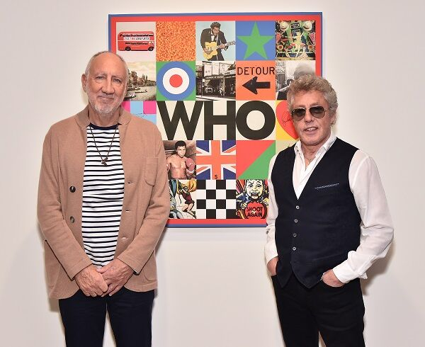 Pete Townshend and Roger Daltrey Of The Who Reveal Sir Peter Blake Designed New Album Cover At PACE Gallery Opening