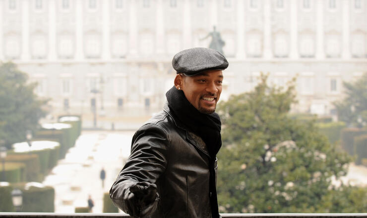 "Will Smith Attends ""Seven Pounds"" Madrid Photocall"