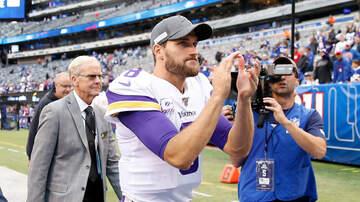 Vikings - WATCH: Vikings QB Kirk Cousins meets the media after win in New York   KFAN