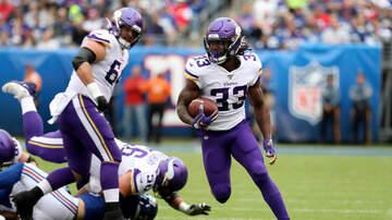Vikings - PHOTOS: Vikings stop Giants on the road 28-10   KFAN 100.3 FM