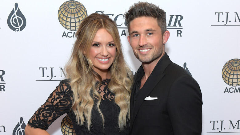 Carly Pearce & Michael Ray Tie The Knot In 'Whimsical' Nashville Wedding
