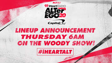 ALTer EGO - ALTer Ego 2020 Lineup Announcement This Thursday at 6am on The Woody Show