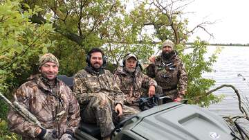 Fan Outdoors - PHOTOS: First ever radio show LIVE from a Duck Blind with ARGO