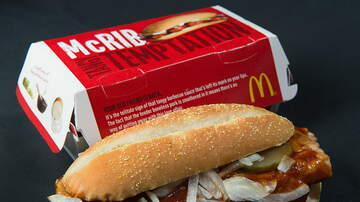Weird News - McDonald's Famous McRib Returns to Restaurants Beginning Today