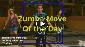 Kev's Move Of The Day - Zumba Move of the Day 10-4-19