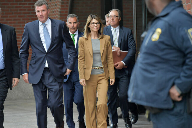 Felicity Huffman And Lori Loughlin Appear In Federal Court To Answer Charges Stemming From College Admissions Scandal