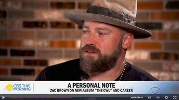 Cole - Zac Brown Opens Up About Divorce, and NEW Music