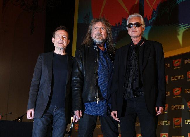 Led Zeppelin - Press Conference