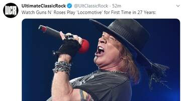 Paul and Al - Guns N' Roses Play Locomotive For First Time in 27 Years