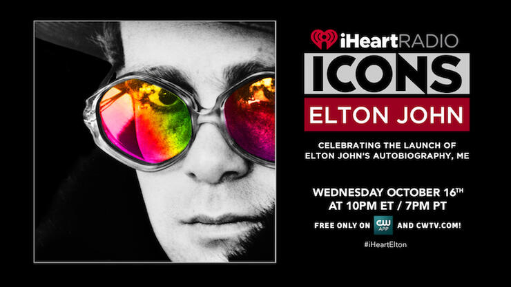 iHeartRadio ICONS with Elton John: Celebrating the Launch of Elton John's Autobiography, Me