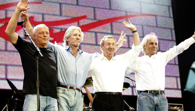 Pink Floyd's Nick Mason Did Not Think Live 8 Would Be The Band's Last Show