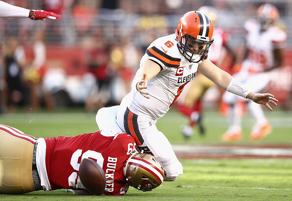 Cleveland Browns v San Francisco 49ers