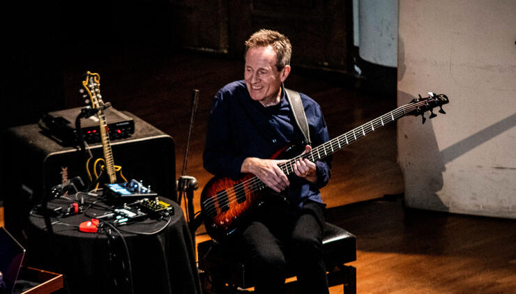Led Zeppelin's John Paul Jones Announces First U.S. Show With New Duo | iHeartRadio