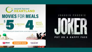 None - Support #Movies4Meals & get FREE passes to see 'JOKER' at Emagine Theatres