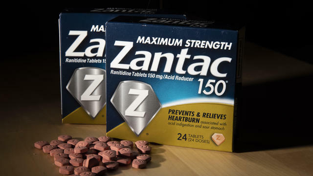 Potentially dangerous chemical found in popular heartburn pill Zantac