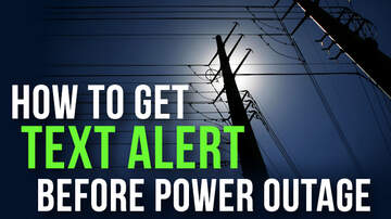 Trending in the Bay - How To Get Text Alerts Before Scheduled The Power Outages!