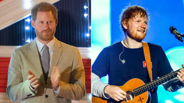 Entertainment News - Prince Harry & Ed Sheeran Tease Joint Project For World Mental Health Day